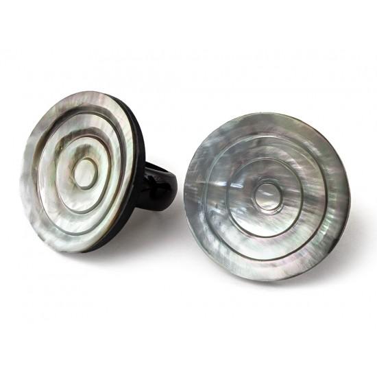 Кольцо Перламутровая Спираль