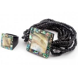 Комплект Ингрид (браслет+кольцо)