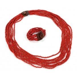 Комплект Cандра Красный