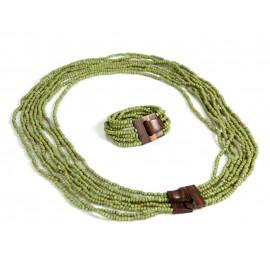 Комплект Cандра Зеленый